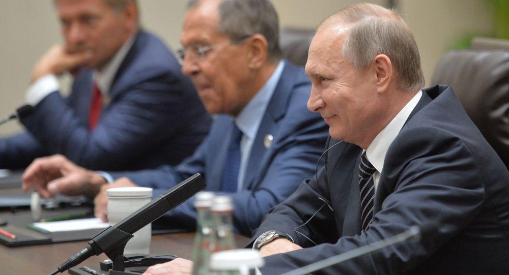 Schůzka Vladimira Putina a Baracka Obamy