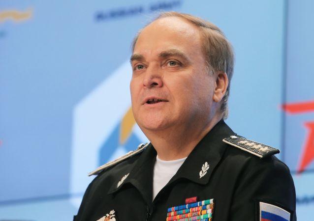 Náměstek ministra obrany RF Anatolij Antonov