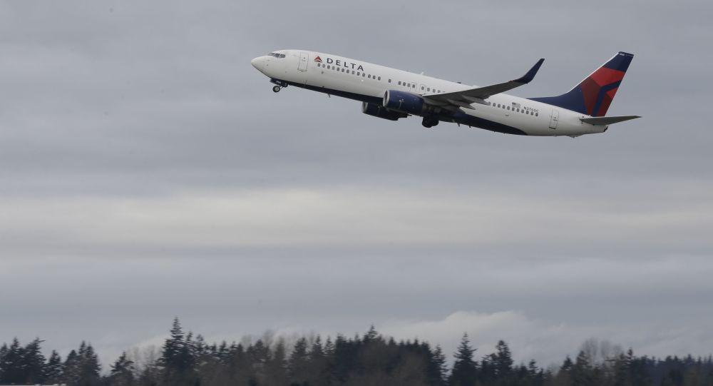 Letadlo společnosti Delta Air Lines