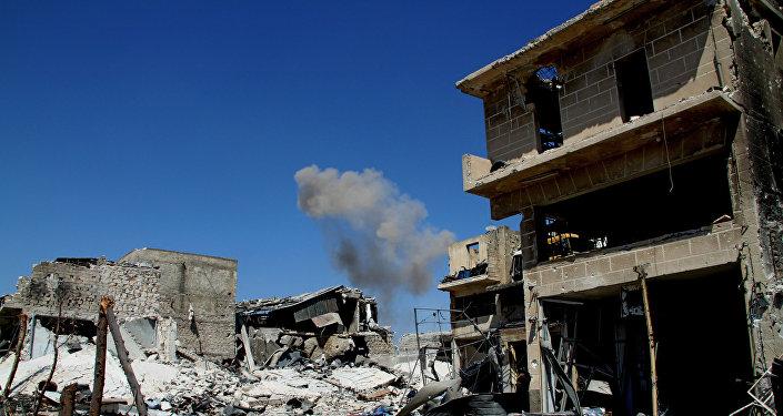 Osvobozený obvod Ramuse v Aleppu