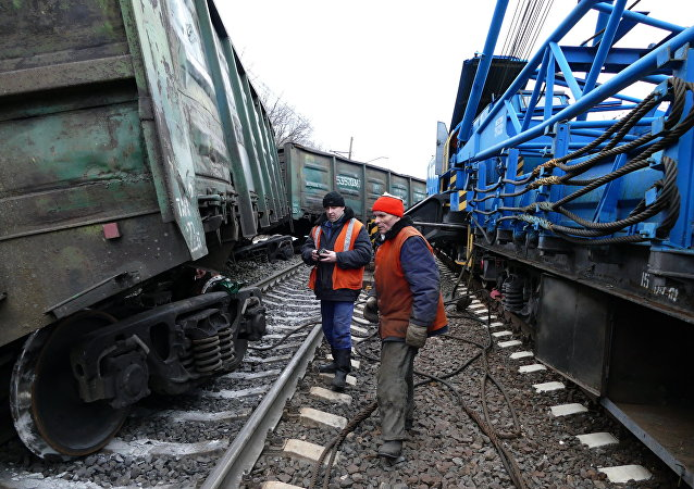 Exploze železnice v Jasinovaté