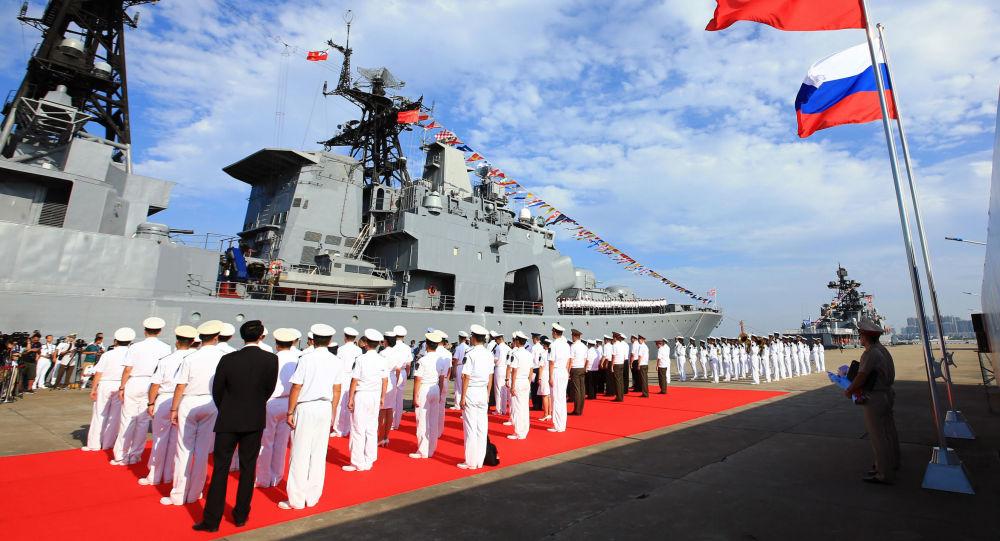 Zahájení největších rusko-čínských cvičení Námořní spolupráce 2016