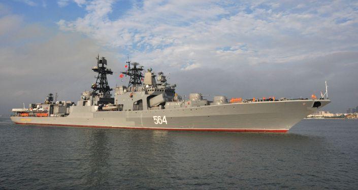 Zahájení největších rusko-čínských cvičení Námořní spolupráce. Archivní foto