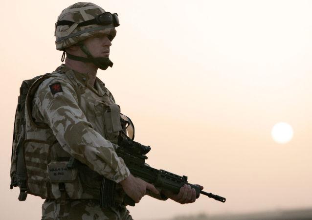 Britští vojáci v Kábulu