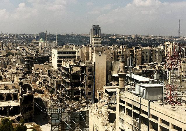 Situace v Aleppu, Sýrie