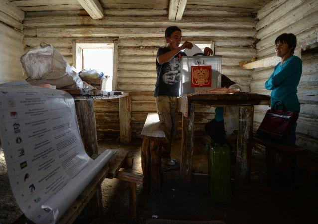 Předčasné hlasování na chovatelských stanicích na Altaji