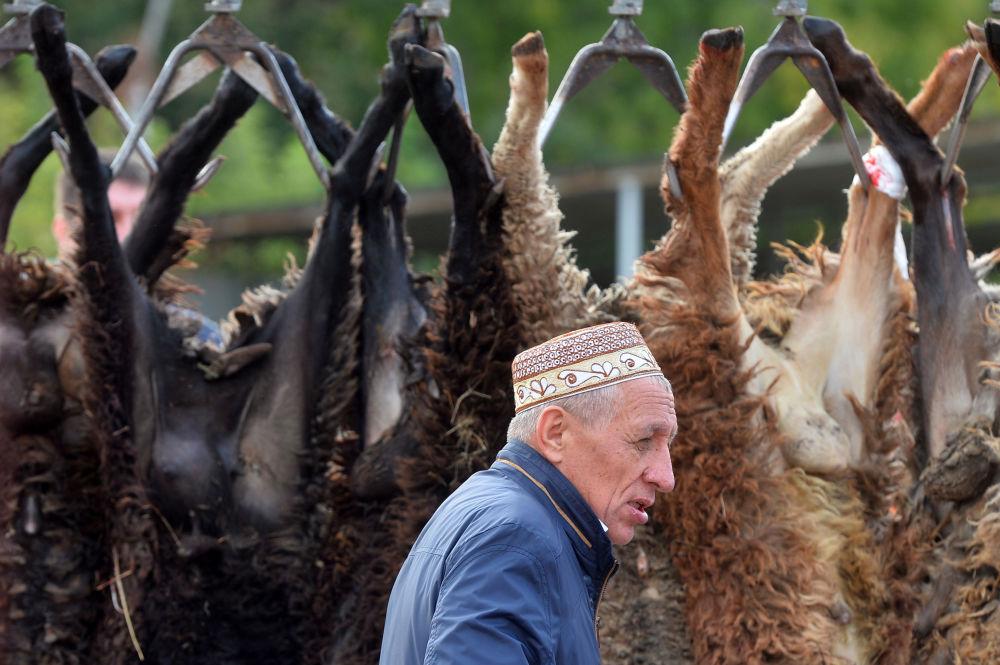 Zařízení pro zabití obětních živočichů v Kazani