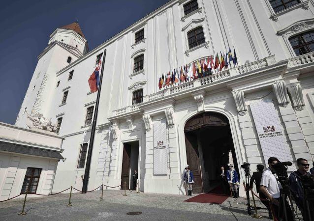 Před začátkem summitu EU v Bratislavě