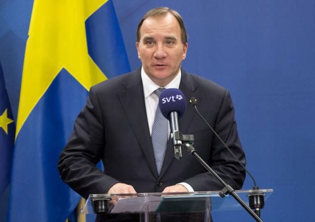 Švédský premiér Stefan Löfven