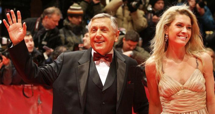 Režisér Jiří Menzel a jeho manželka Olga