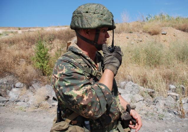 Příslušník Lidové milice LLR