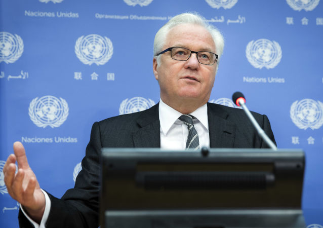 Stálý představitel Ruska v OSN Vitalij Čurkin