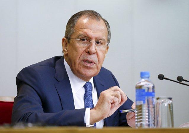 Sergej Lavrov, ruský ministr zahraničí. Ilustrační foto