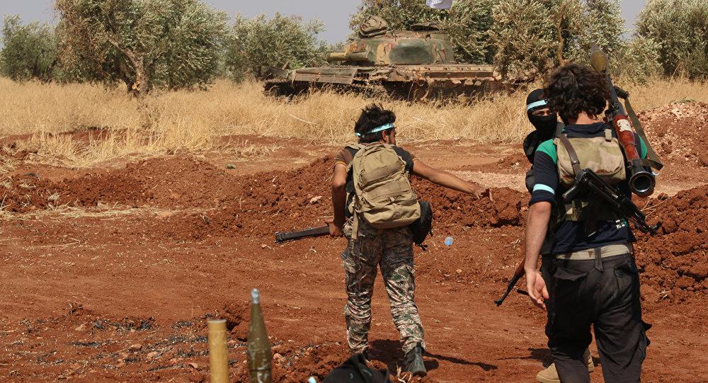 Příslušníci syrské opozice (ilustrační foto)