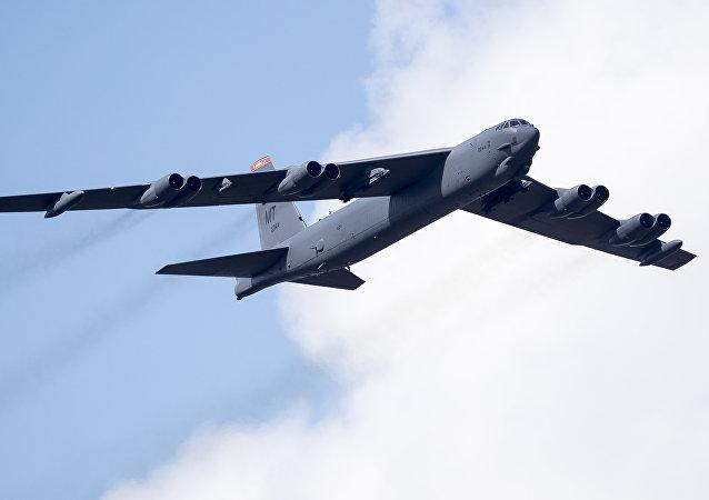 Bombardér B-52. Ilustrační foto