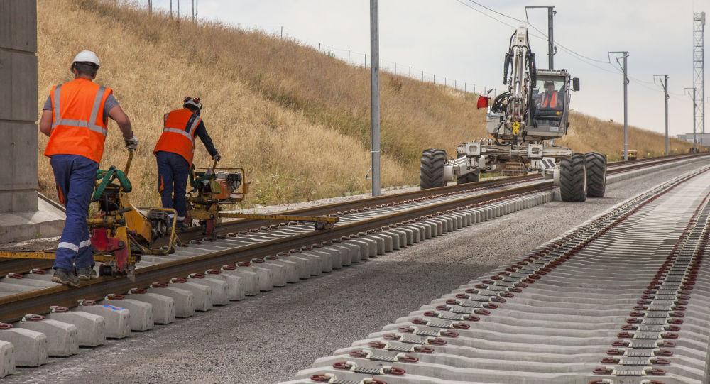 Stavba nové železnice