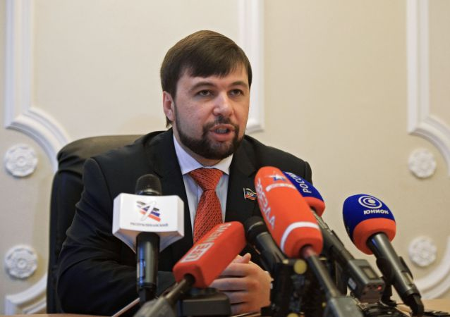 Vice-předseda Národní rady DLR Denis Pušilin