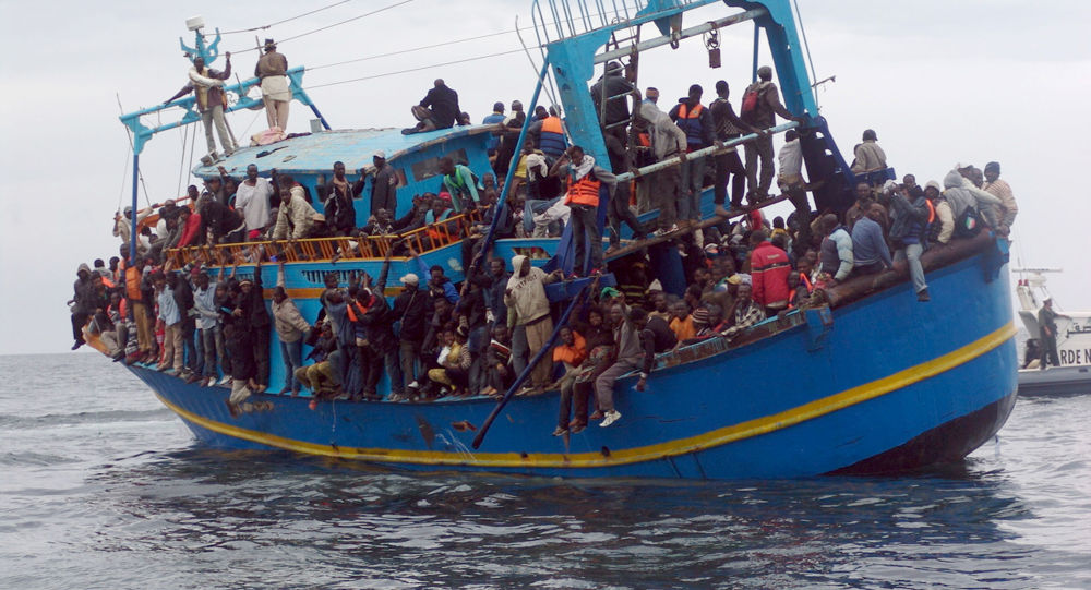 Uprchlíci z Afriky