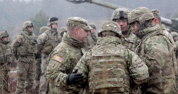 Cvičení NATO v Lotyšsku