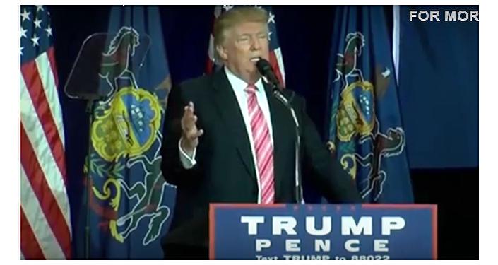 Trump udělal parodii na indispozici Clintonové