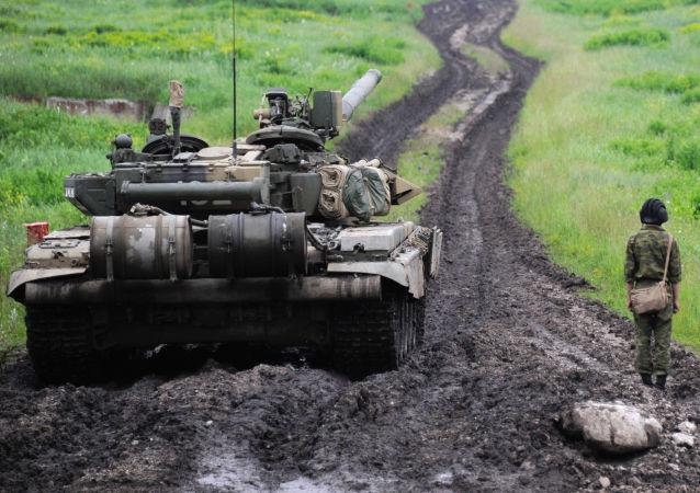 Tank T-90 v Severní Osetii