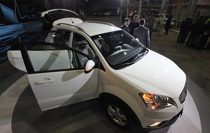 Nové auto SsangYong NEW Actyon na prezentaci