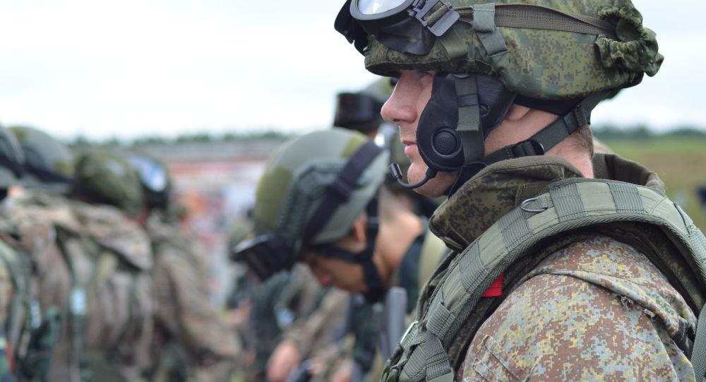 Příslušníci speciální jednotky Ruské gardy