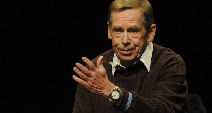 Bývalý český prezident Václav Havel