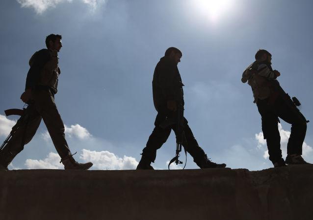 Syrská ozbrojená opozice. Ilustrační foto