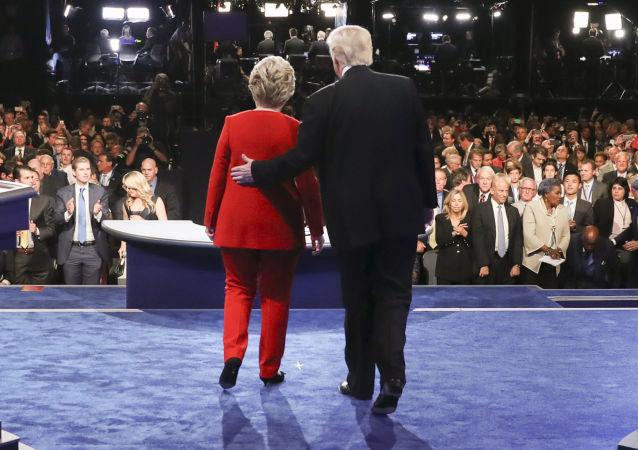 Hillary Clintonová a Donald Trump
