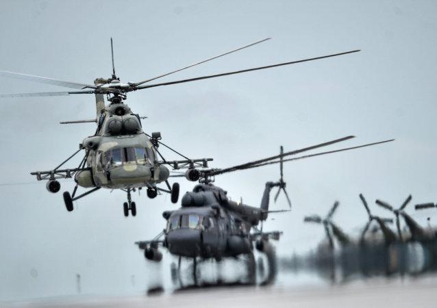 Vrtulníky Mi-8