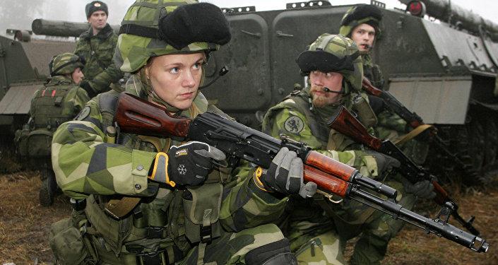 Švédská vojačka