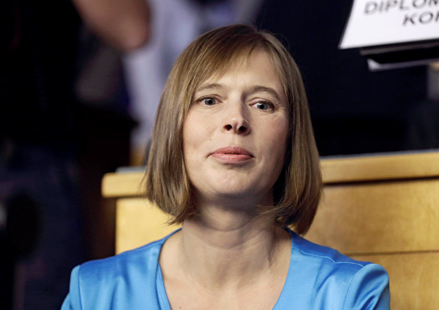 Nová prezidentka Estonska Kersti Kaljulaid