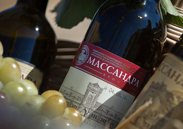 Výrobek vinařské společnosti Massandra