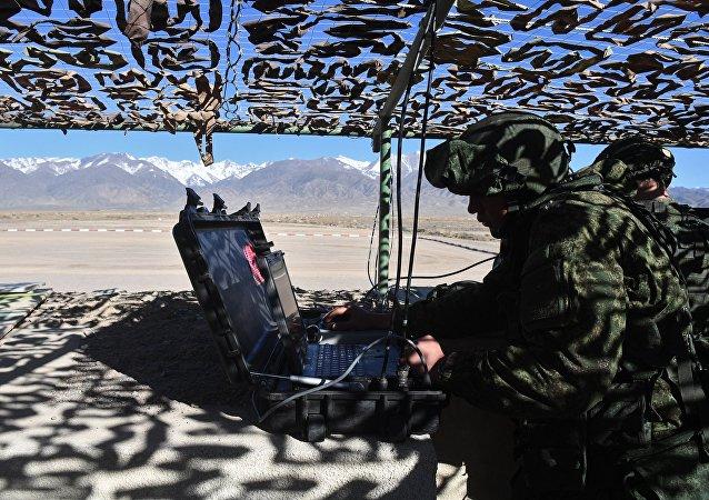 Cvičení ruských vojsk
