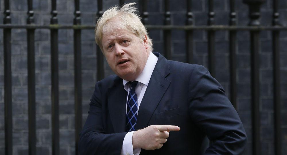 Britský ministr zahraničních věcí Boris Johnson