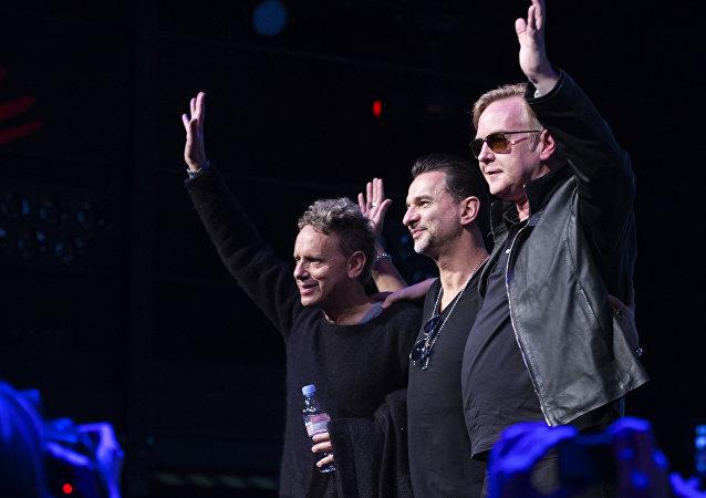 Britská rocková skupina Depeche Mode