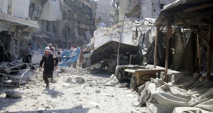 Ulice v Aleppu