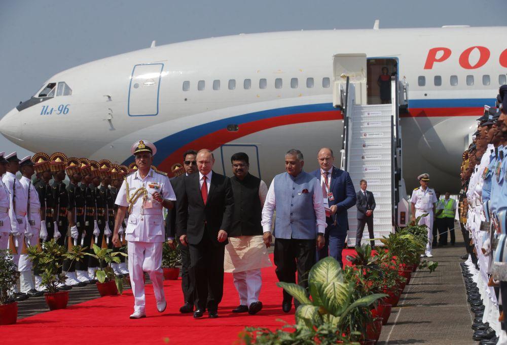Návštěva Indie Vladimirem Putinem