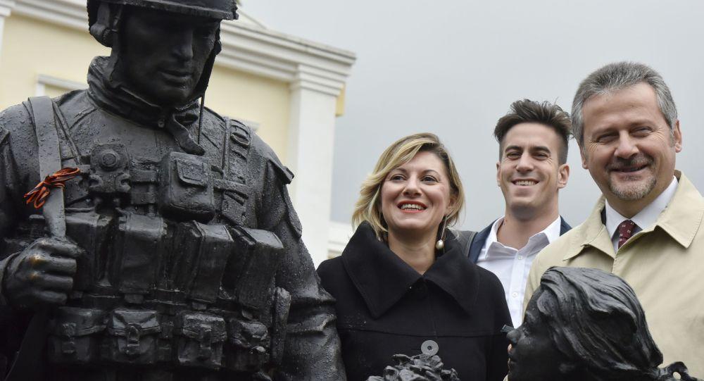 Návštěva itálské delegace na Krymu