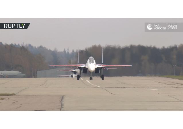 Letecká skupina Ruští vítězové dostala nové stíhačky
