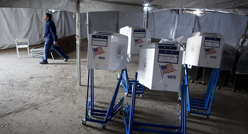 Volební automaty v USA v roce 2012