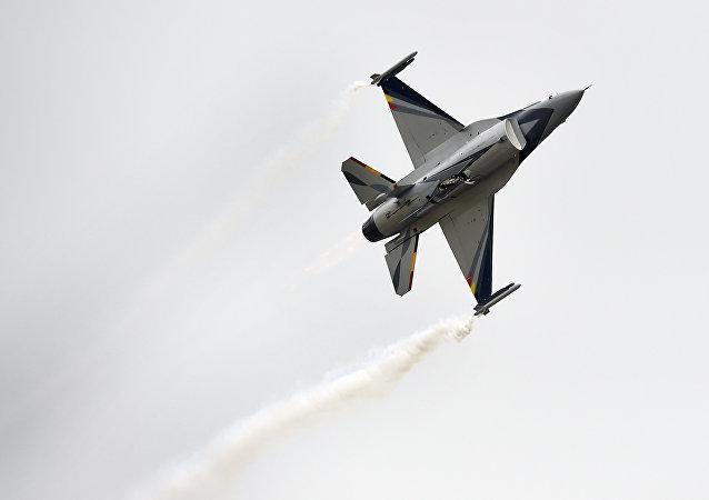 Belgická stíhačka F-16
