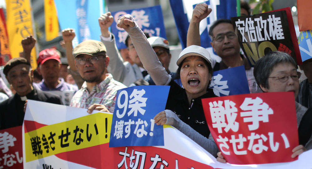 Tokio protestuje proti novým obranným zákonům