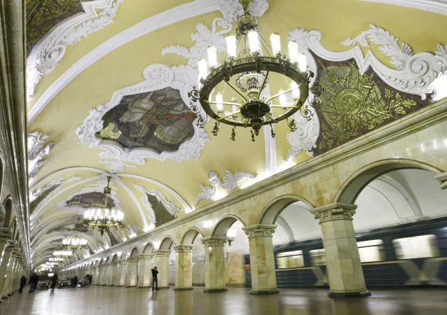 Moskevské metro.