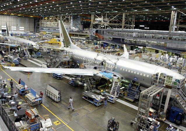 Závod společnosti Boeing