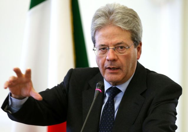 Italský ministr zahraničních věcí Paolo Gentiloni