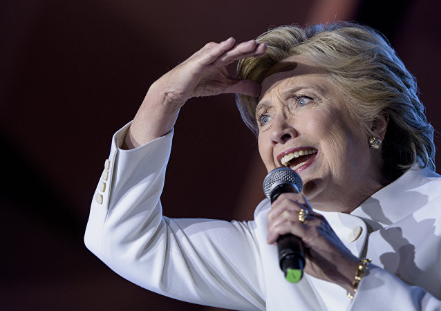 Bývalá kandidátka na funkci prezidenta USA Hillary Clintonová