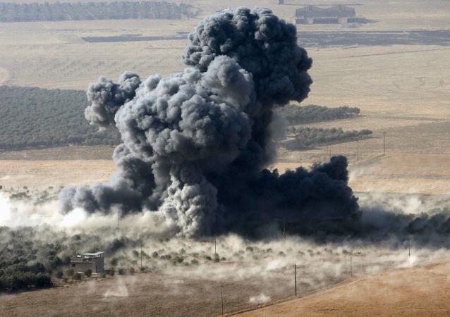 Kouř v Iráku