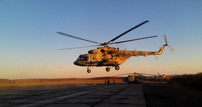 Bojové vrtulníky Ruska v akci